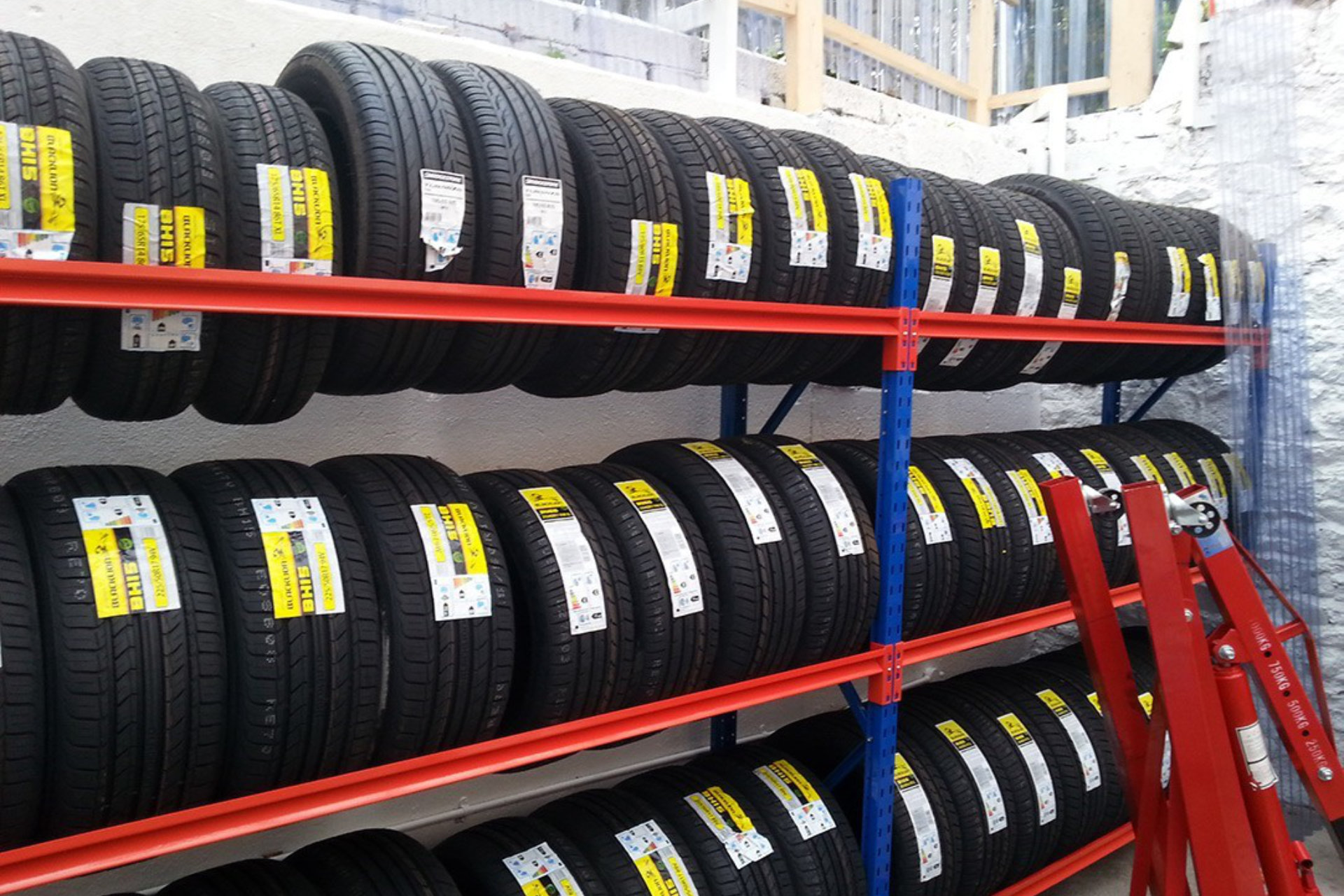Part worn tyres page