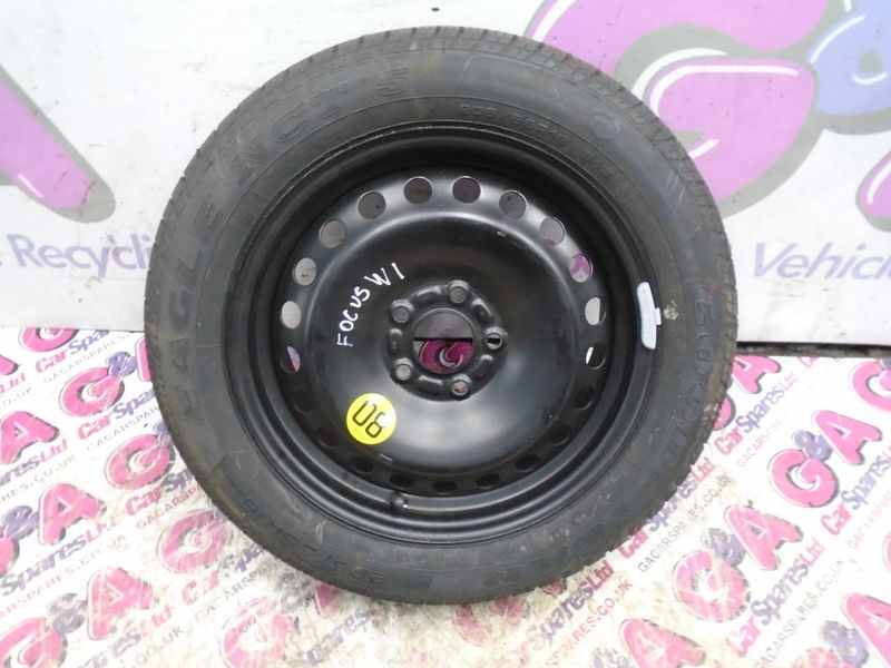 "FORD FOCUS  1X 16""  INCH 5 STUD STEEL WHEEL & TYRE WITH 9MM TREAD"
