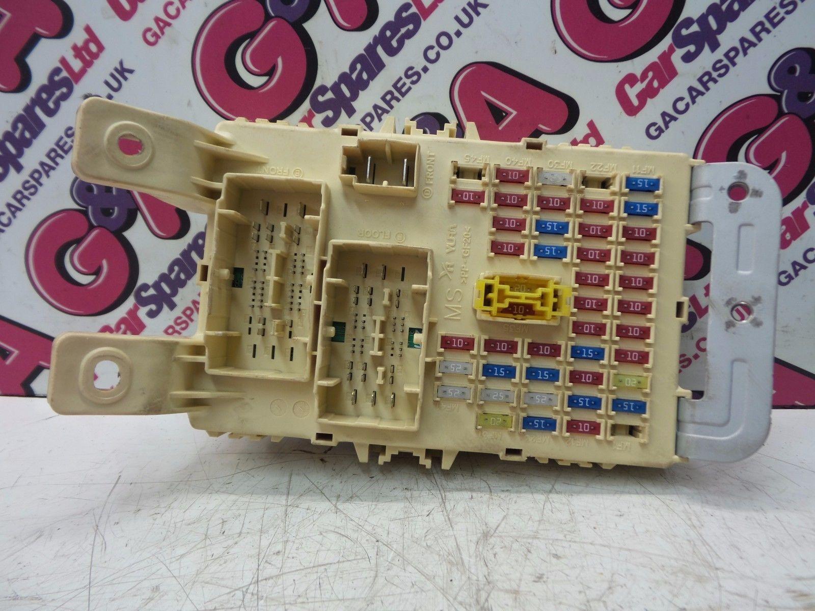 KIA RIO MK3 1.1 D3FA DIESEL FUSE BOX / FUSE BOARD / COMFORT MODULE 2011-2014