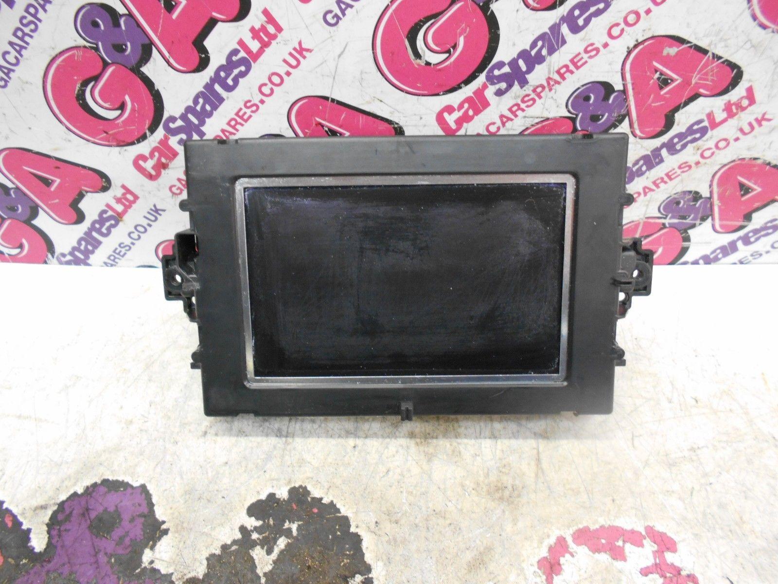 mercedes w204 c class coupe sat nav navigation monitor screen 11