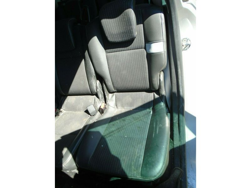 11 RENAULT GRAND SCENIC MK3 NEARSIDE 2ND ROW 1/2 LEATHER SEAT 09-13 BREAKING CAR