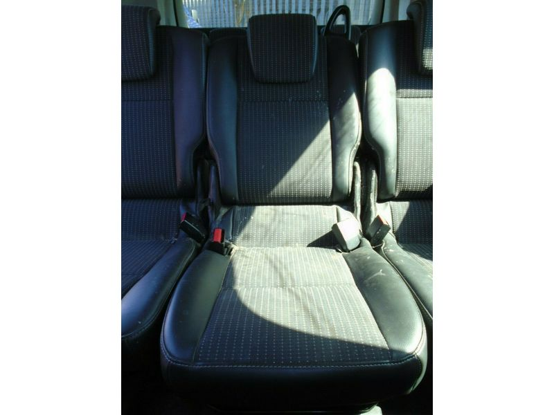 11 RENAULT GRAND SCENIC MK3 MIDDLE 2ND ROW 1/2 LEATHER SEAT 09-13 BREAKING CAR