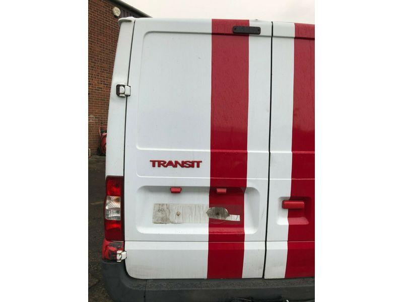 07 FORD TRANSIT 85 T280S PANEL VAN NEARSIDE REAR PANEL DOOR 06-14 BREAKING CAR