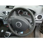 10 RENAULT CLIO MK3 3 DOOR FACELIFT STEERING WHEEL-NO AIRBAG 05-12 BREAKING CAR
