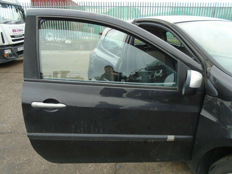 10 RENAULT CLIO MK3 3 DOOR OFFSIDE FRONT LOCKING MECHANISM 05-12 BREAKING CAR
