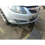 07 VAUXHALL CORSA D SXI 3 DOOR FRONT BUMPER ASSEMBLY-SILVER 06-10 BREAKING CAR