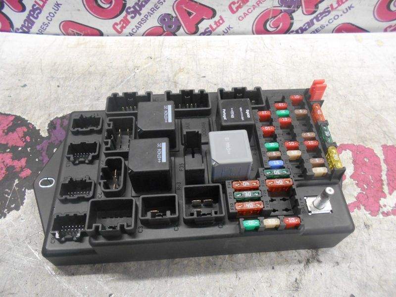 2006 jaguar xkr fuse box diagram jaguar xk x150 fuse box relay holder box 2007 - 2014 | g ...