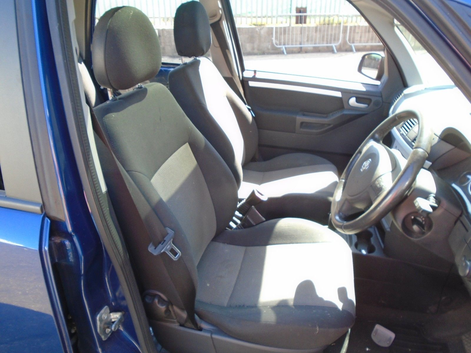 04 Vauxhall Meriva Energy Offside Front Fabric Seat Assembly 03 06 Flexconnect Breaking Car
